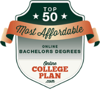 Top 50 Most Affordable Online Bachelors Degrees